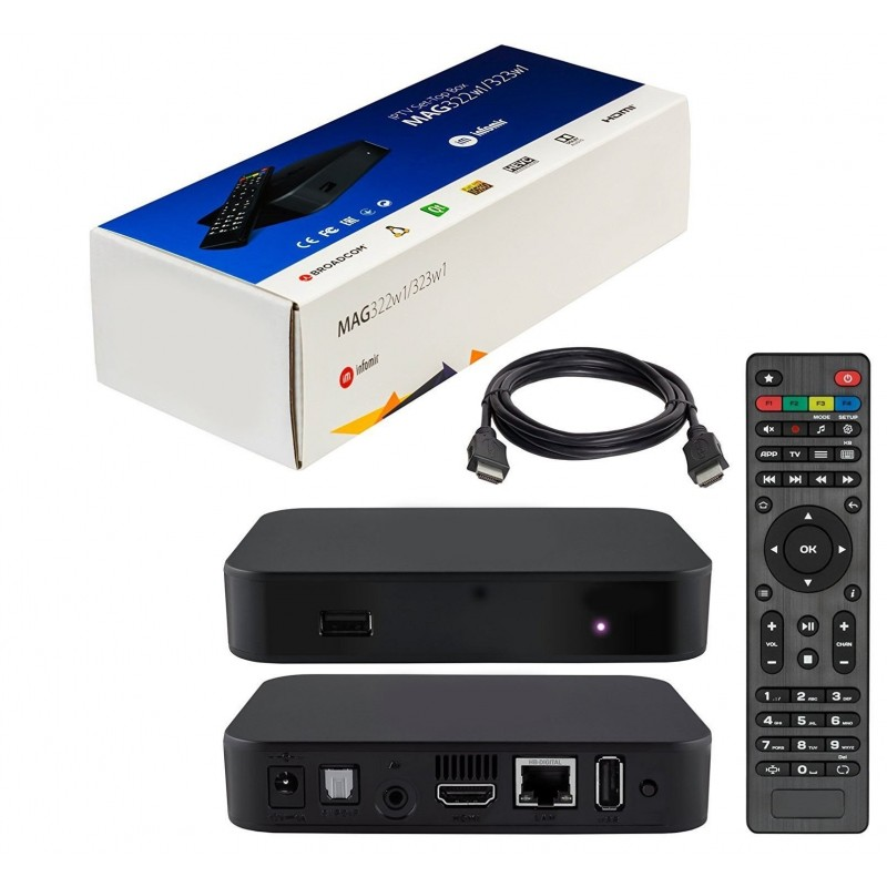 MAG 322 W1 Set-Top-Box With Built in WIFI